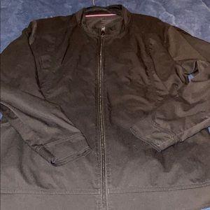 Purple Label black scrub jacket 2xL
